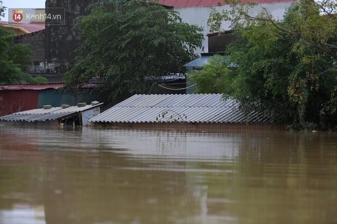 Hơn 2 tuần chịu trận lũ lịch sử, người dân Quảng Bình vẫn phải leo nóc nhà, bơi giữa dòng nước lũ cầu cứu đồ ăn - Ảnh 5.