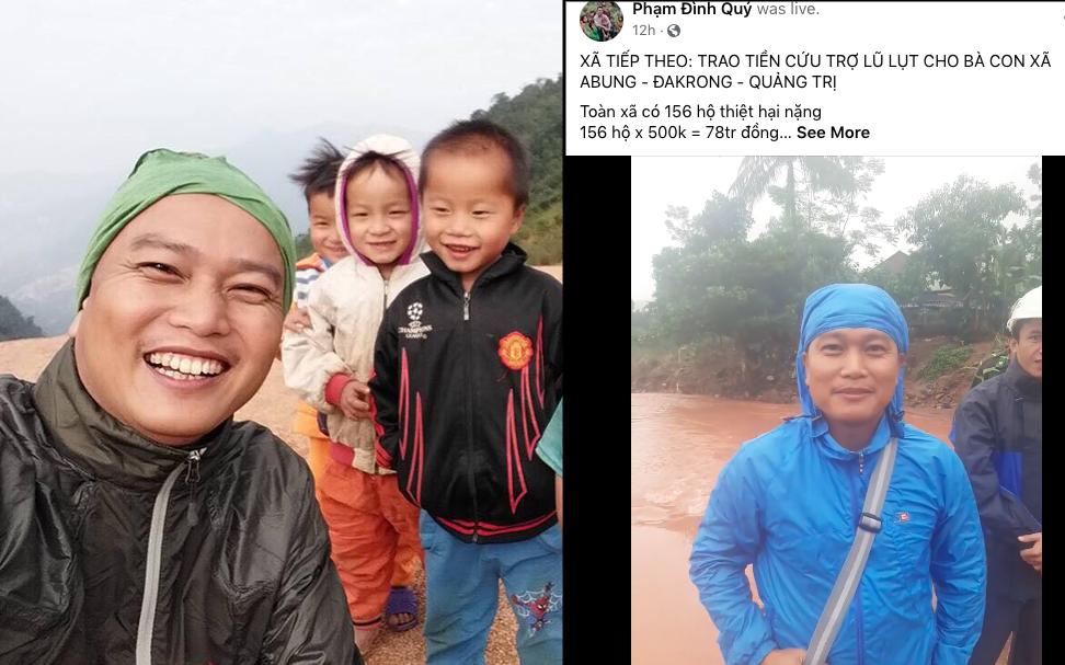 """Kĩ sư Phạm Đình Quý chia sẻ từ kinh nghiệm cứu trợ người dân vùng lũ: """"Thủy Tiên kêu gọi rất tốt, thực hiện theo phương án của tôi là cực kỳ hợp lý lúc này"""""""