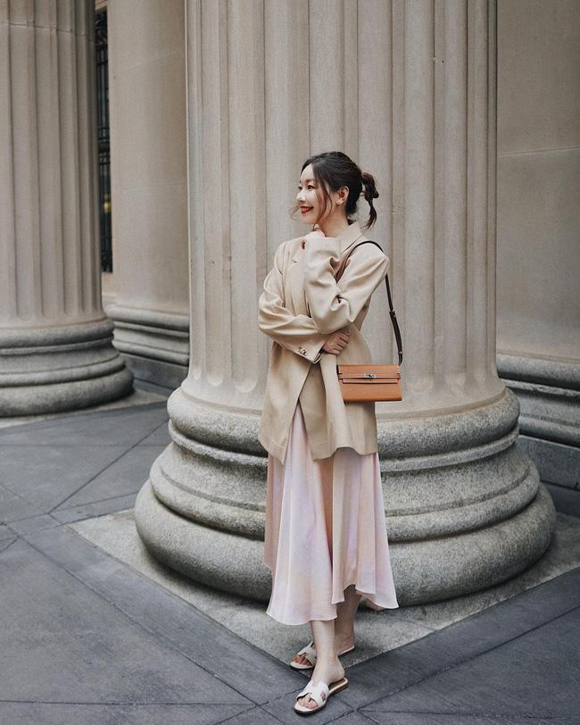 Chỉ với một kiểu blazer, nàng fashionista mix được cả chục set đồ xịn đẹp, học theo thì bạn chẳng cần shopping nhiều cho phí tiền - ảnh 5