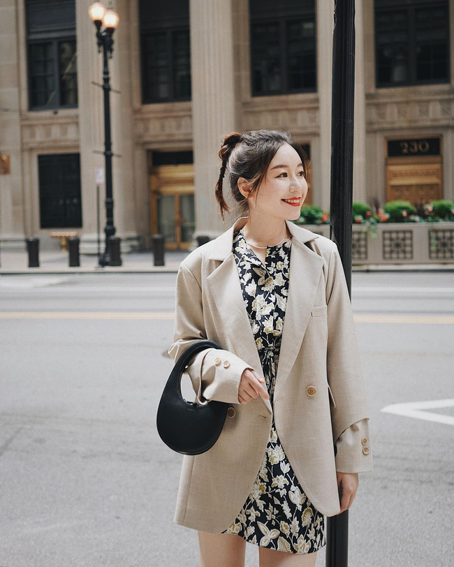 Chỉ với một kiểu blazer, nàng fashionista mix được cả chục set đồ xịn đẹp, học theo thì bạn chẳng cần shopping nhiều cho phí tiền - ảnh 6