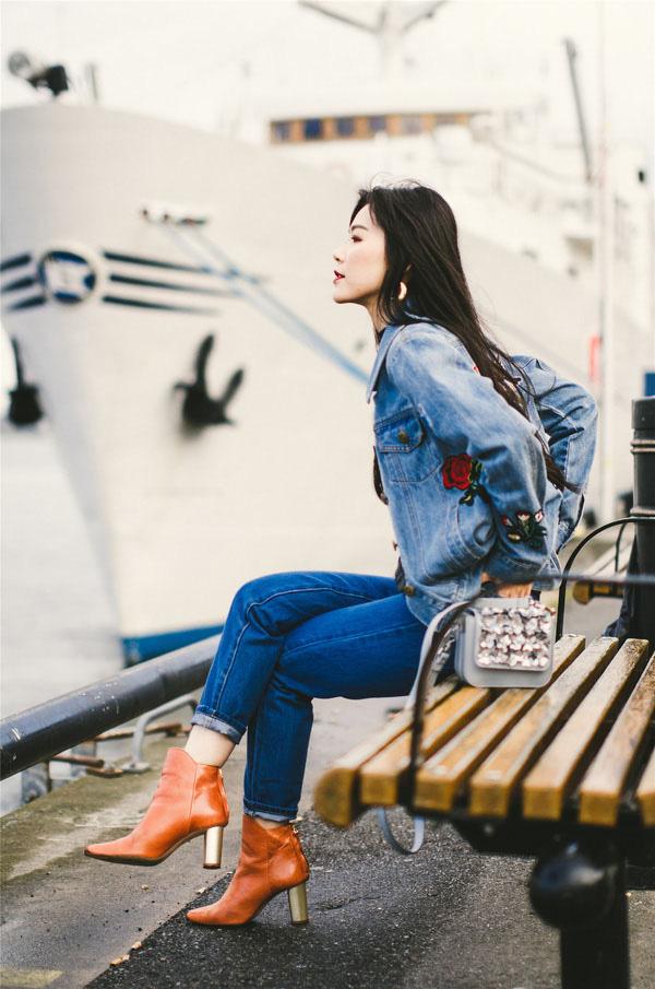 Công thức boots + quần với 3 chiêu nâng tầm 100% thời thượng cho các nàng mùa lạnh này - ảnh 9