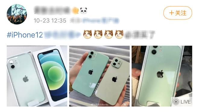 Ngắm iPhone 12 xanh mint đang rất được lòng iFan trên toàn thế giới - Ảnh 1.