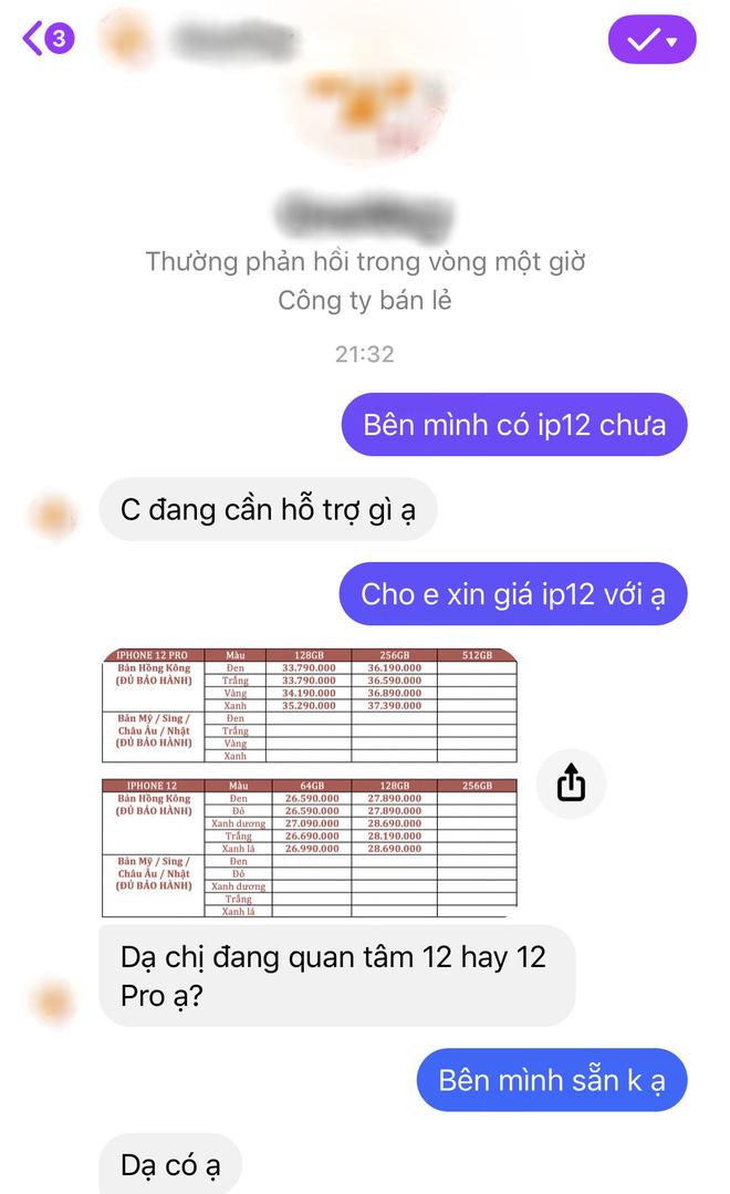 Thị trường iPhone 12 xách tay tại Việt Nam đìu hiu, con buôn chủ yếu đang thăm dò thượng đế - ảnh 7