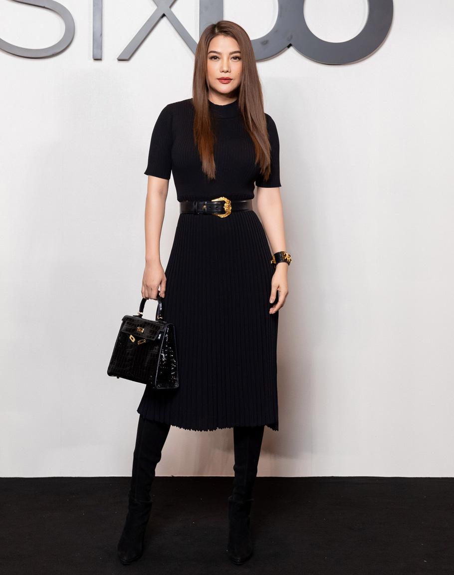 Angela Phương Trinh comeback chặt đẹp dàn mỹ nhân, Khánh Linh đã dát vàng lông mày còn xách túi lồng chim nửa tỷ - Ảnh 9.