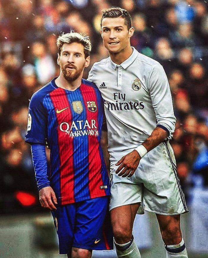 Messi chúc Ronaldo hồi phục nhanh chóng để tái đấu - Ảnh 1.