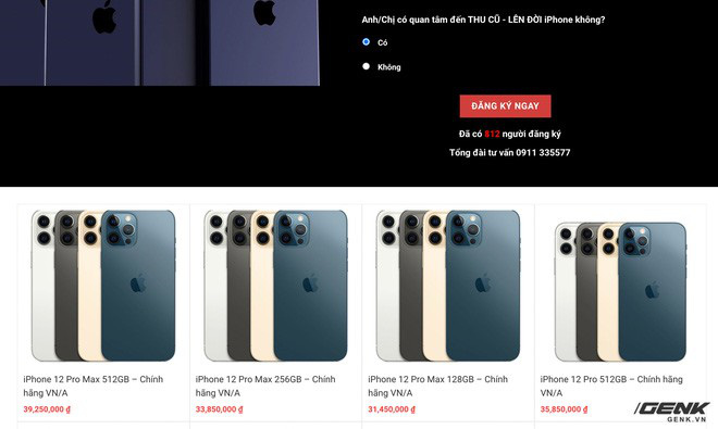 Website các cửa hàng lớn nhỏ rợp bóng iPhone 12 VN/A, thị trường xách tay đang nhạt dần? - ảnh 4
