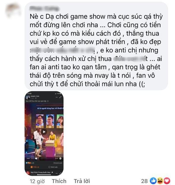 """Lâm Vỹ Dạ bị netizen phàn nàn trên trang cá nhân, người bênh kẻ chê vì thái độ """"cục súc"""" trên sóng truyền hình - ảnh 1"""
