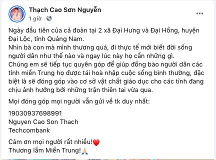 Lan Ngọc và Chi Dân bất ngờ xuất hiện chung, đồng hành với ST, Trương Quỳnh Anh đến miền Trung để cứu trợ bà con - ảnh 2