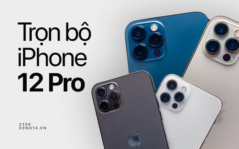 Ngắm trọn bộ iPhone 12 Pro đầy đủ 4 màu sắc vừa về Việt Nam