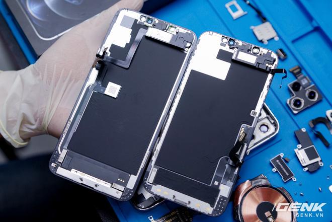 Mổ bụng iPhone 12 Pro đầu tiên tại Việt Nam: Sắp xếp vị trí linh kiện có chút khác biệt, bo mạch chữ L, pin 2815mAh - ảnh 19