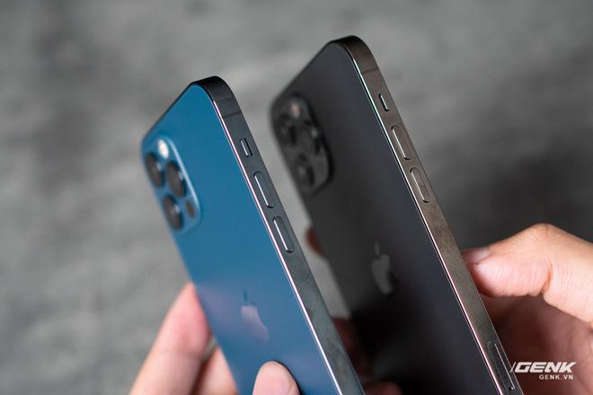 So sánh 2 màu đẹp nhất trên iPhone 12 Pro: Đen Graphite và Xanh Pacific - ảnh 5
