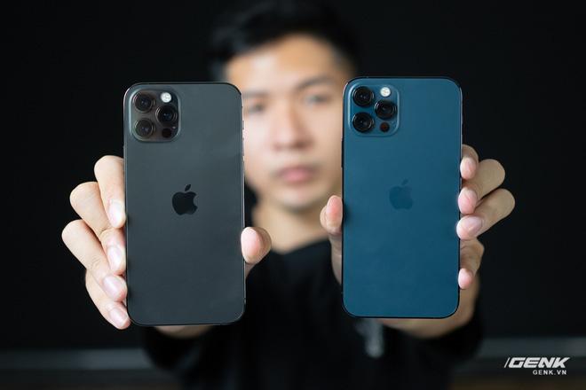 So sánh 2 màu đẹp nhất trên iPhone 12 Pro: Đen Graphite và Xanh Pacific - ảnh 7