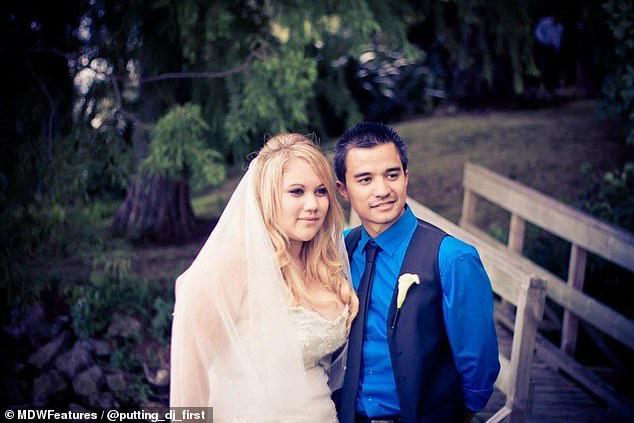 Từng béo đến nỗi không chọn được váy cưới phù hợp, cô dâu 30 tuổi giảm một lèo 50kg khiến dân tình phải kinh ngạc - Ảnh 1.