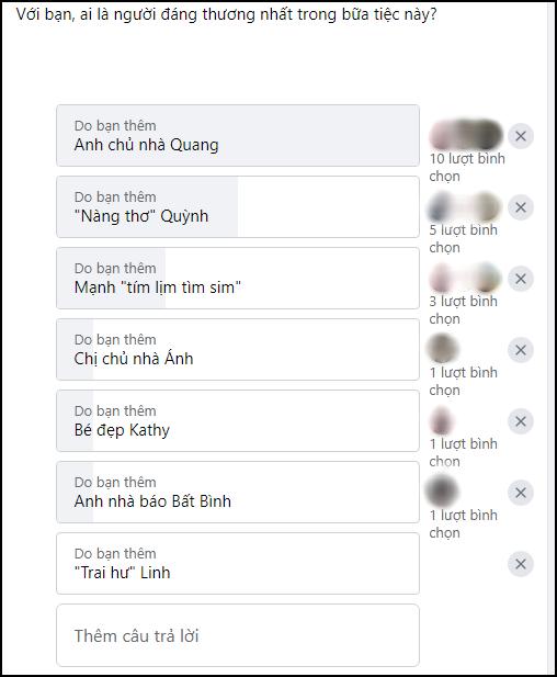 Fan Việt chọn kẻ đáng ghét - đáng thương nhất Tiệc Trăng Máu: Cặp mèo mả bị hắt hủi, anh Quang được cưng vì đẹp trai? - ảnh 7