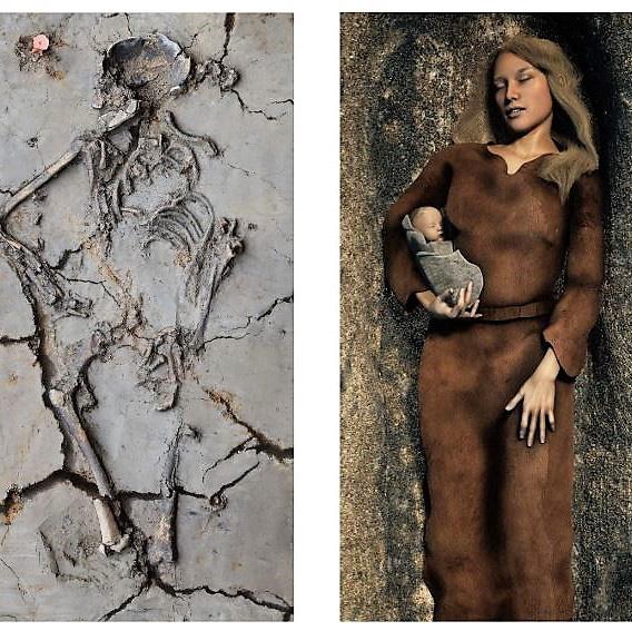 Phát hiện ngôi mộ 6.000 tuổi, các nhà khoa học kinh ngạc khi thấy cảnh tượng chưa từng thấy, hé lộ điều thú vị về trẻ sơ sinh ngàn đời trước - ảnh 2