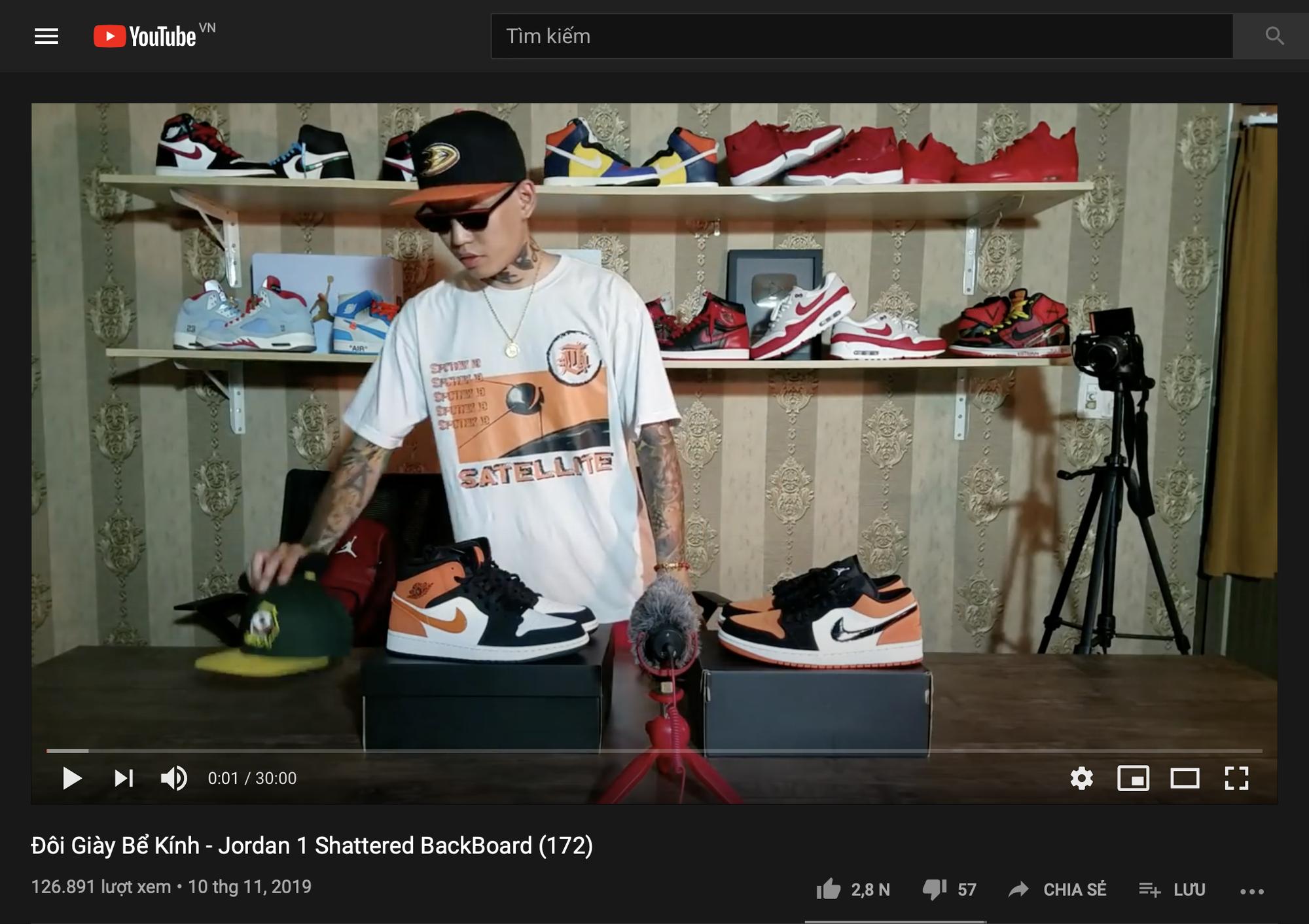 Air Jordan bỗng dưng hot rần rần tại Việt Nam: Giải mã cơn sốt bắt nguồn từ Rap Việt và King Of Rap - Ảnh 23.