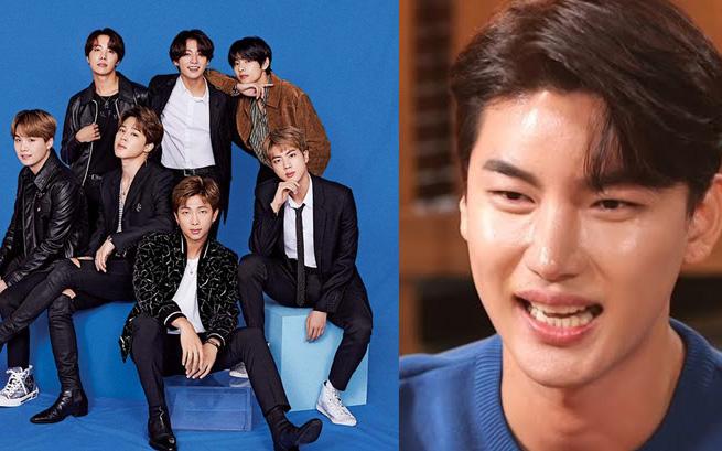 """Fan bất ngờ khi một ca sĩ nhạc Trot tiết lộ là """"thành viên hụt"""" của BTS"""