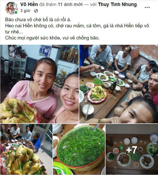 Quảng Nam: Người phụ nữ cho gần 20 bà con trú ẩn trước cơn bão số 9, còn chiêu đãi ăn uống thịnh soạn khiến ai cũng ấm lòng - Ảnh 1.