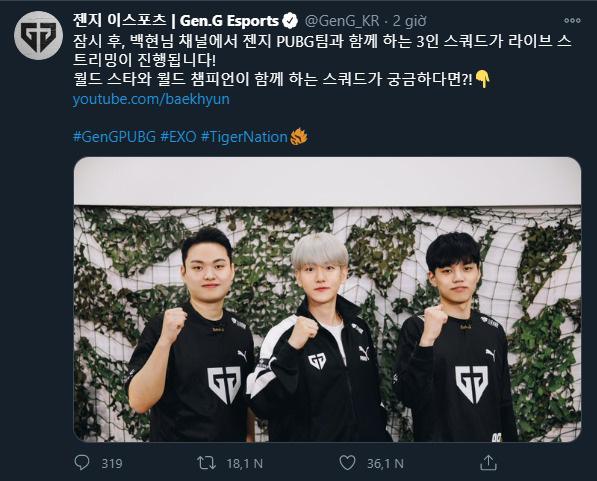 Nam thần Baekhyun nhà EXO bất ngờ gia nhập đội tuyển PUBG, lên sóng livestream như thật, nhưng hoá ra không phải vậy! - Ảnh 1.