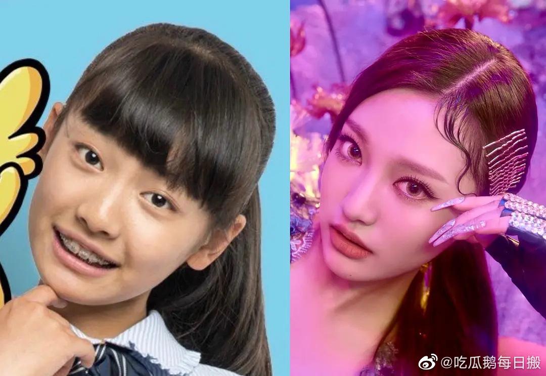 Mỹ nhân Trung Quốc mới của nhà SM: Style thời chưa son phấn khác một trời một vực, đúng là dậy thì thành công - Ảnh 3.