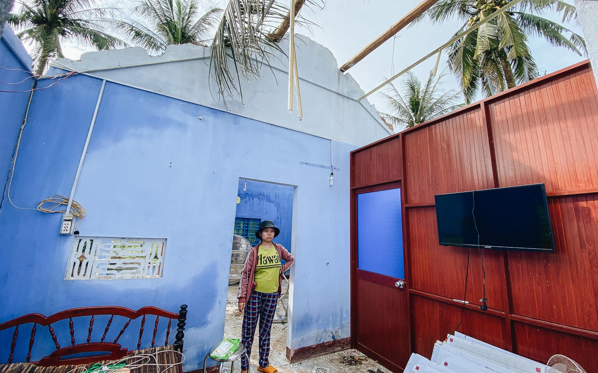 Người Bình Định lo lắng khi khắc phục hậu quả sau bão số 9: