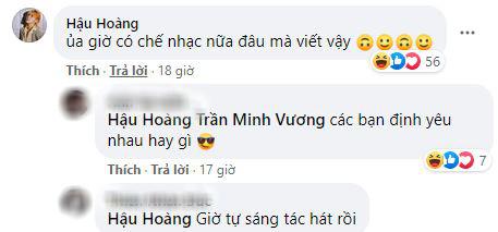 Cầu thủ Minh Vương khoe ảnh thân thiết với youtuber Hậu Hoàng, dân tình thi nhau đẩy thuyền Vương Hậu - ảnh 3