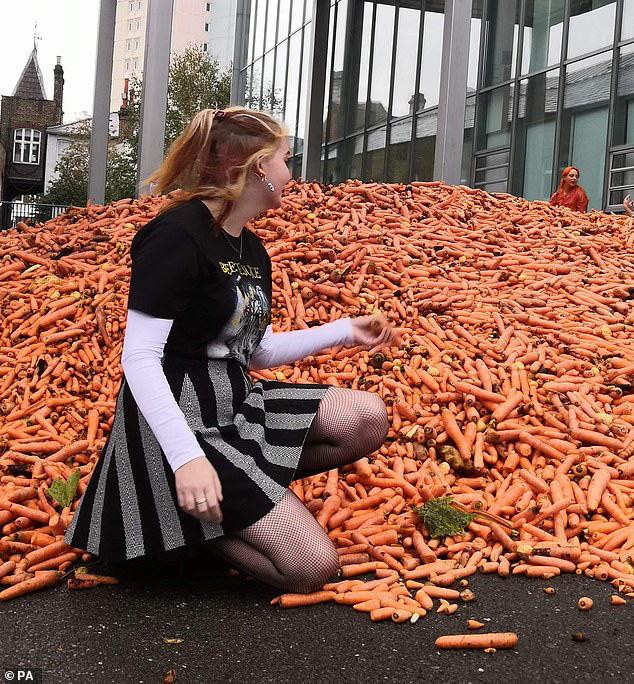 Đang yên đang lành đổ 28 tấn cà rốt ra đường, thanh niên khiến đám đông há hốc, khi biết hàm ý sâu xa vẫn không thể hiểu nổi - Ảnh 6.
