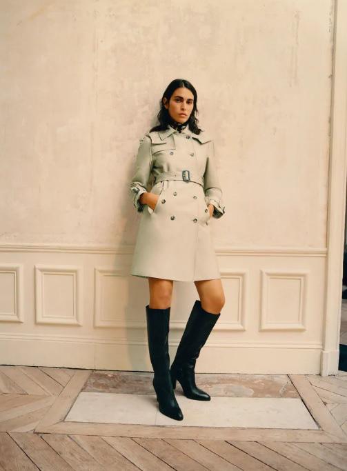 Hội mặc đẹp kháo nhau địa chỉ sắm trench coat chuẩn xịn giá từ hơn 1 triệu - ảnh 8