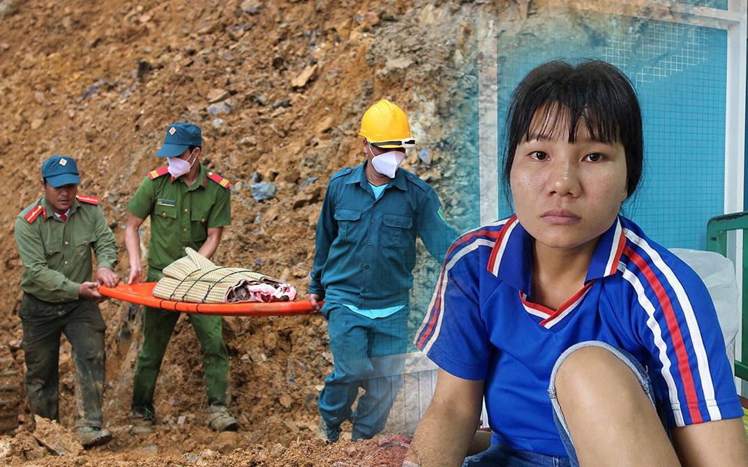 """Nỗi đau thấu trời của người mẹ mất 3 con nhỏ trong vụ sạt lở núi ở Trà Leng: """"Làng mất, nhà sập, con cũng bị vùi trong đó rồi"""""""