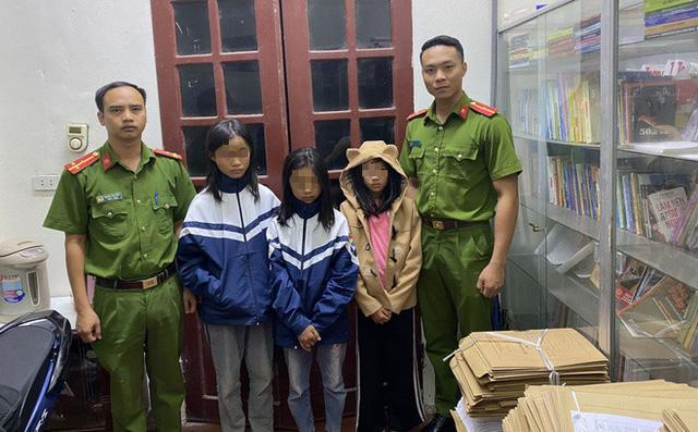 Lực lượng chức năng xuyên đêm tìm 2 bé gái bị bố mẹ mắng bỏ nhà đi - ảnh 1