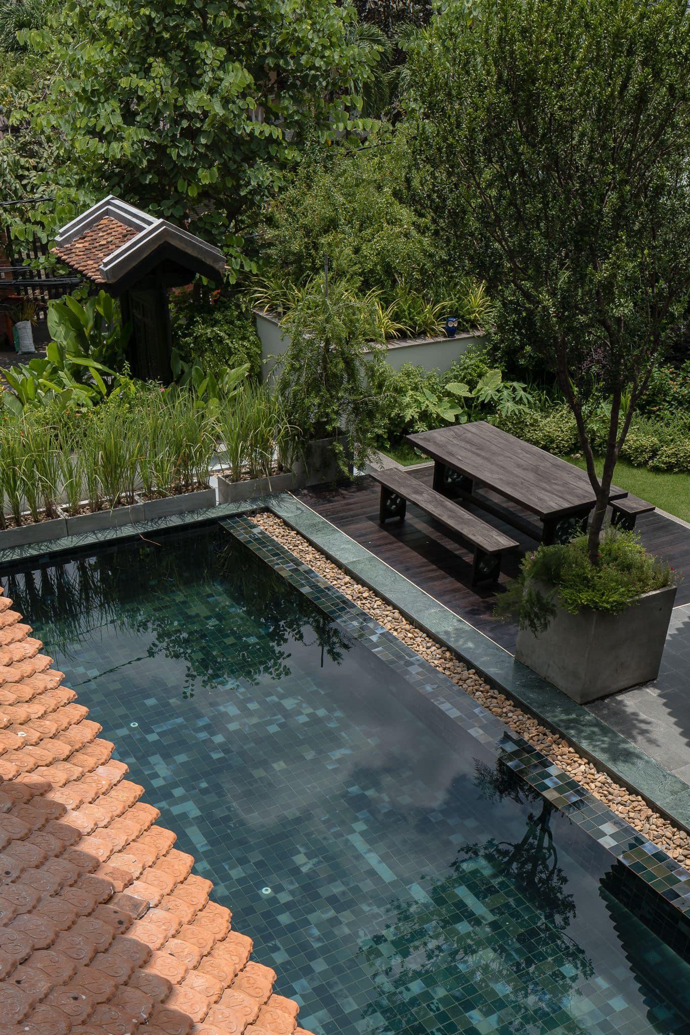 Ngôi nhà 400m2 tại Thảo Điền - Quận 2 được thiết kế từ ngôi biệt thự cổ, không gian thiên nhiên mê đắm lòng người - Ảnh 2.