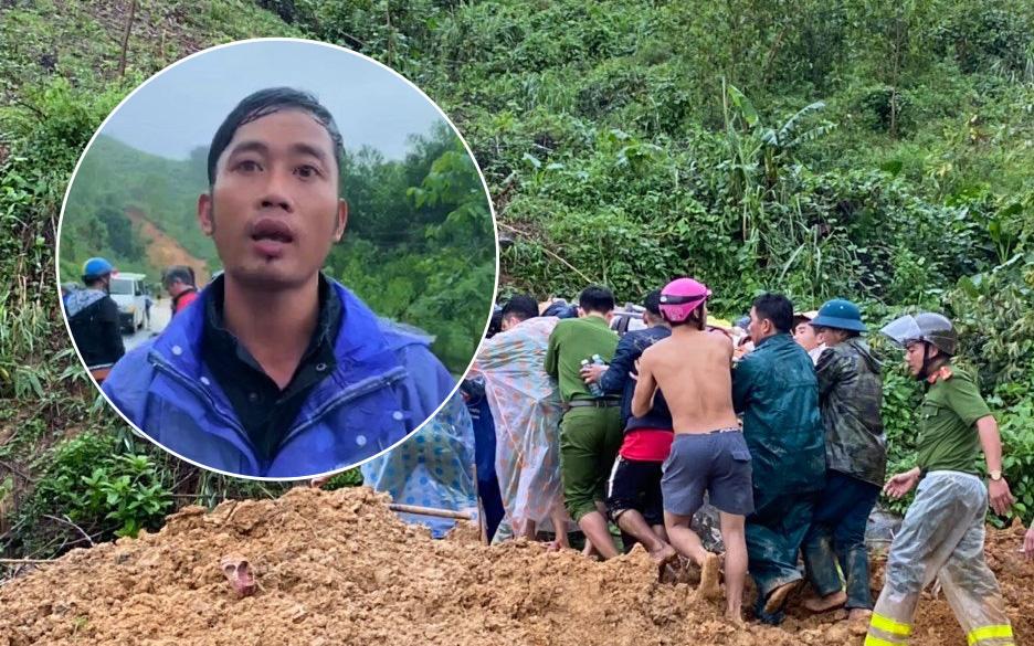 """Nạn nhân vụ sạt lở núi bàng hoàng kể lại phút thoát chết: """"Tôi bị đất đá vùi, bò được ra ngoài cùng 1 người gãy chân"""""""