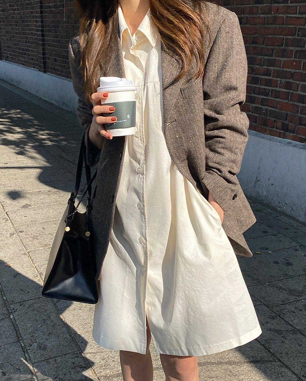 Gái Hàn mặc blazer trông sang chảnh chứ không hề già, các nàng học ngay 10 công thức để có set đồ trendy không cần hỏi - Ảnh 6.