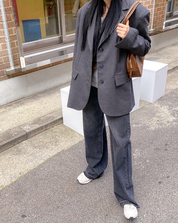 Gái Hàn mặc blazer trông sang chảnh chứ không hề già, các nàng học ngay 10 công thức để có set đồ trendy không cần hỏi - Ảnh 4.