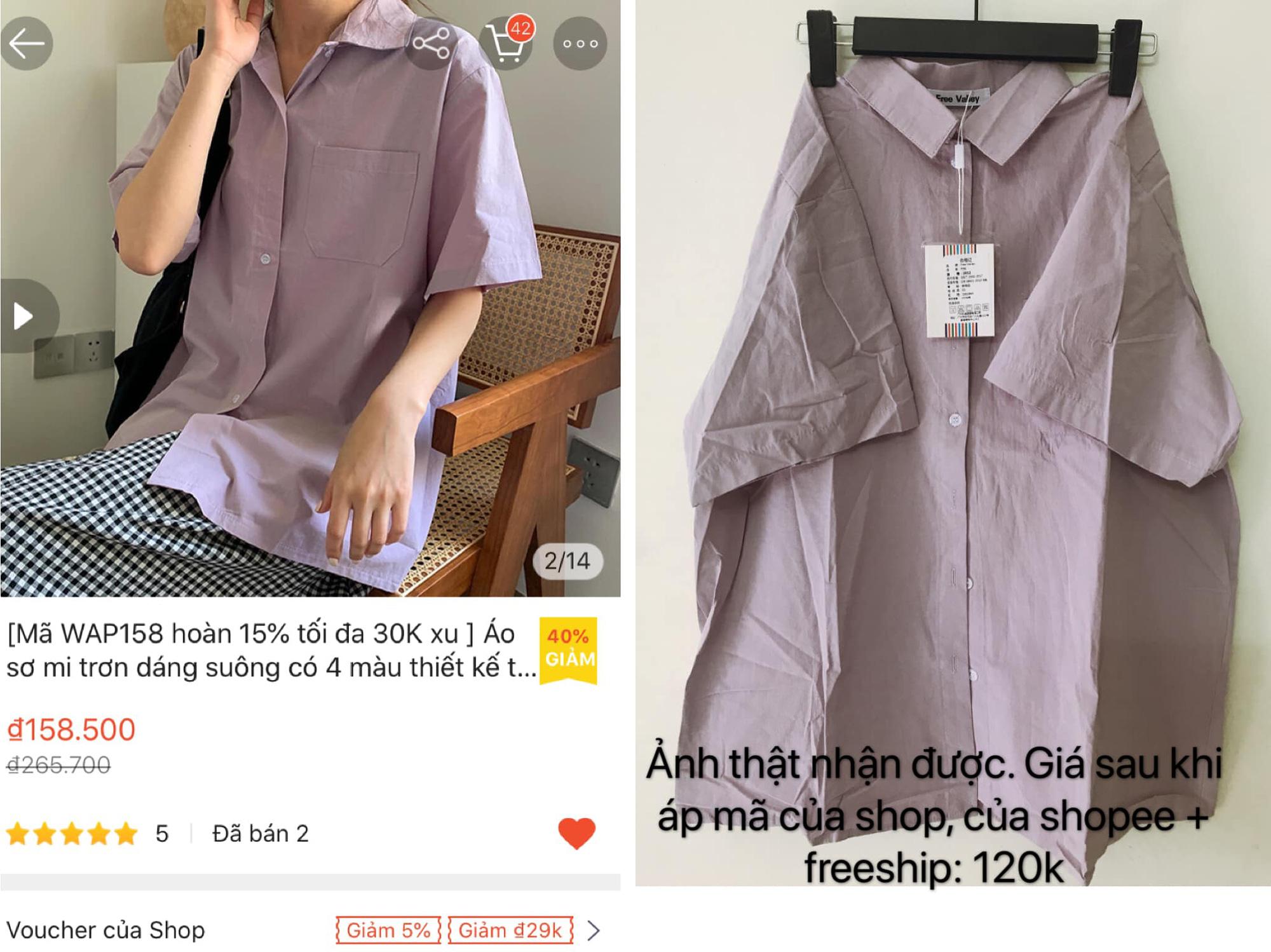 Tín đồ shopping chỉ cách mua quần áo ở shop quốc tế Shopee giá rẻ bằng 1/2 mua trong nước - Ảnh 4.