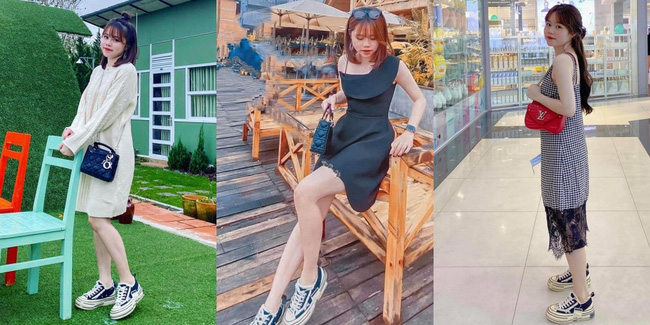 Không biết chuyện tình cảm trúc trắc thế nào, nhưng nhìn street style sẽ thấy Huỳnh Anh nhất kiến chung tình với 4 đôi giày thể thao này - Ảnh 3.