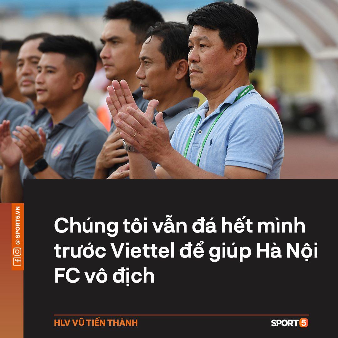 HLV Sài Gòn FC: Chúng tôi sẽ đá hết mình trước Viettel để giúp Hà Nội vô địch, đó mới là thượng võ - Ảnh 2.