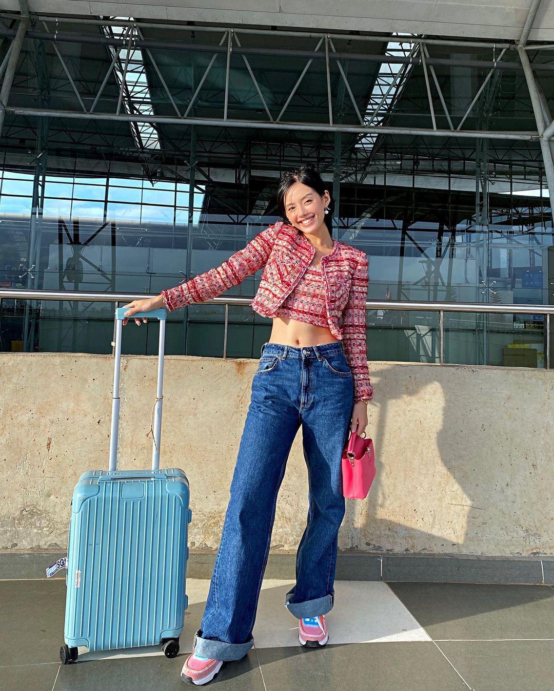 Instagram look của sao Việt tuần qua: Ngọc Trinh diện crop top cài đúng 1 chiếc khuy, 3 mỹ nhân khoe dáng với bikini cực gắt - Ảnh 6.