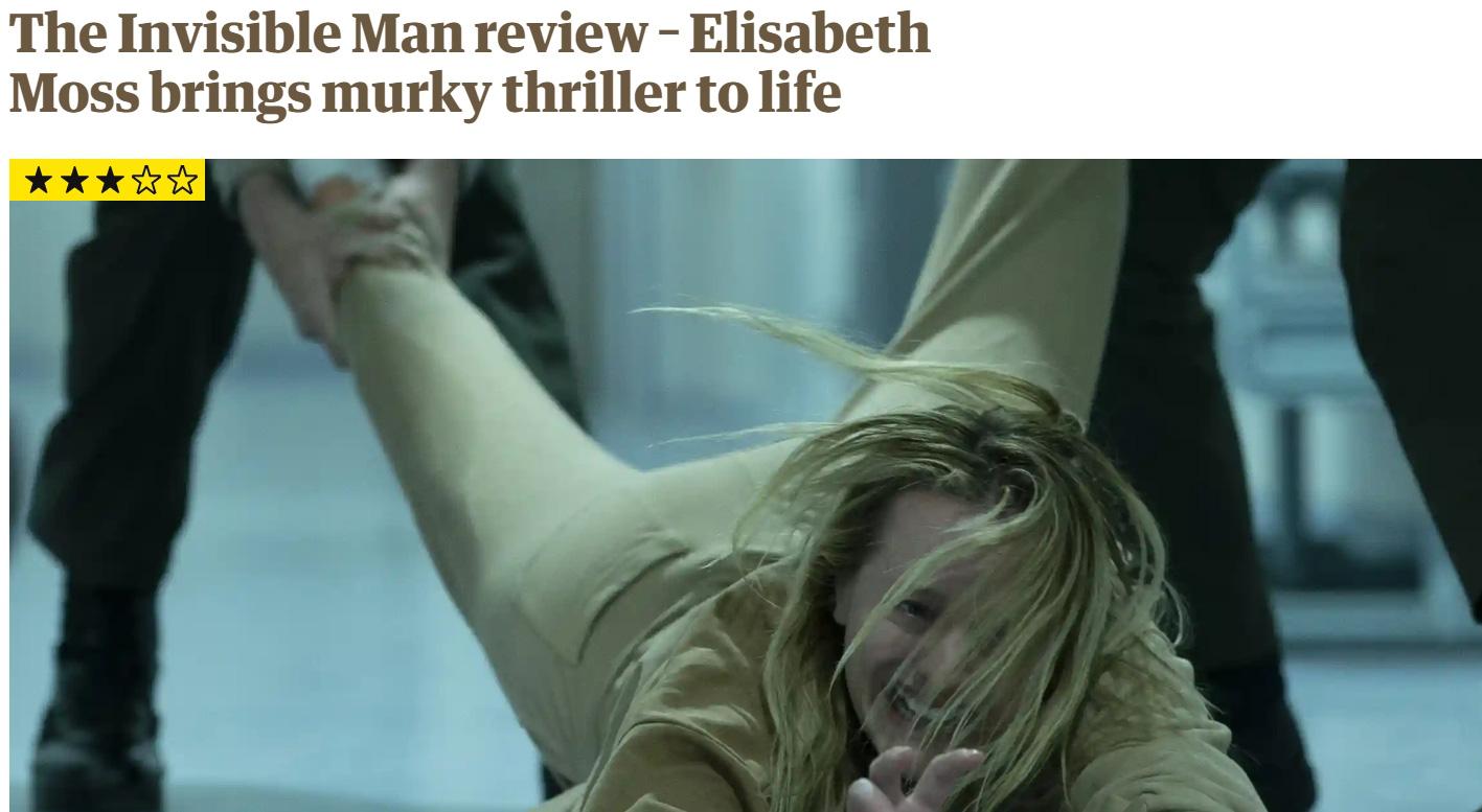 Giới mộ điệu quốc tế hết lời khen ngợi The Invisible Man: Phim kinh dị nổi da gà, nữ chính Elisabeth Moss hay xuất sắc - Ảnh 4.