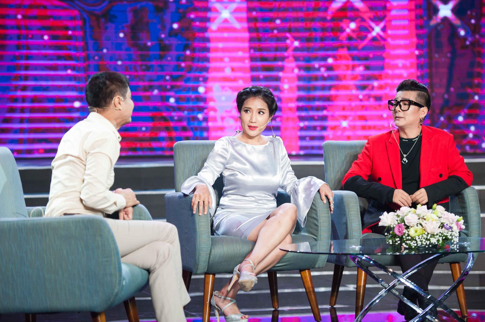"""9n10y 6383 15826514370252015071006 - Lê Hoàng """"đá đểu"""" Cát Tường khiến cô ngượng ngùng trên sóng truyền hình"""