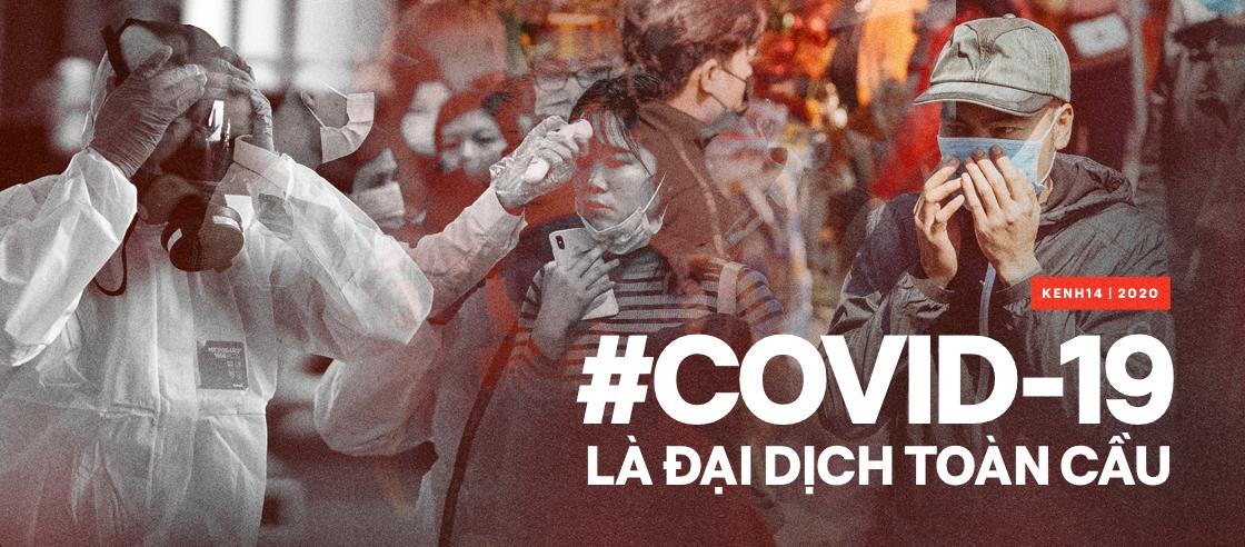 Covid-19 là đại dịch toàn cầu