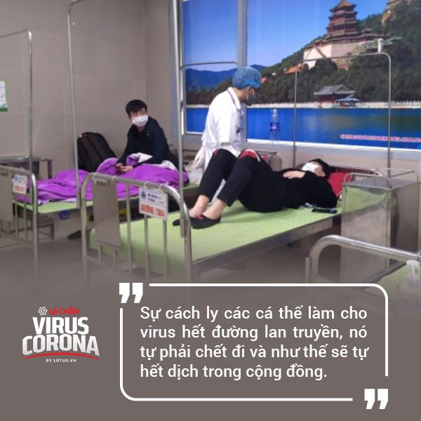 PGS.TS Nguyễn Huy Nga: Chúng ta tách nhau ra thì virus hết đường sống - Ảnh 3.