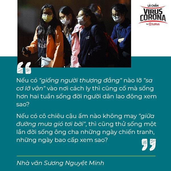 Nhà văn Sương Nguyệt Minh: Chỉ có 14 ngày cách ly, xin đừng đổ xô đi tiếp tế - Ảnh 5.