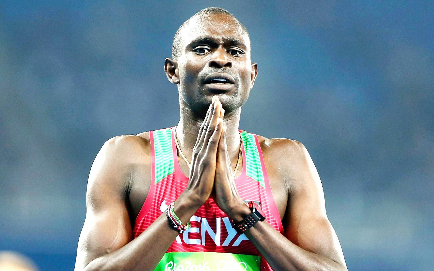 Suýt mất mạng, cha qua đời, vợ ly thân và giờ là hoãn Olympic, lối thoát nào cho nhà vô địch David Rudisha?
