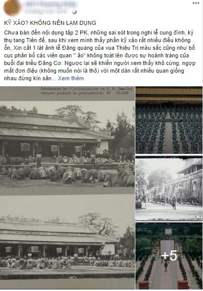 Antifan Phượng Khấu lập fanpage chê phim sai lệch lịch sử, so sánh chuyên nghiệp cả về sạn kĩ xảo - Ảnh 9.