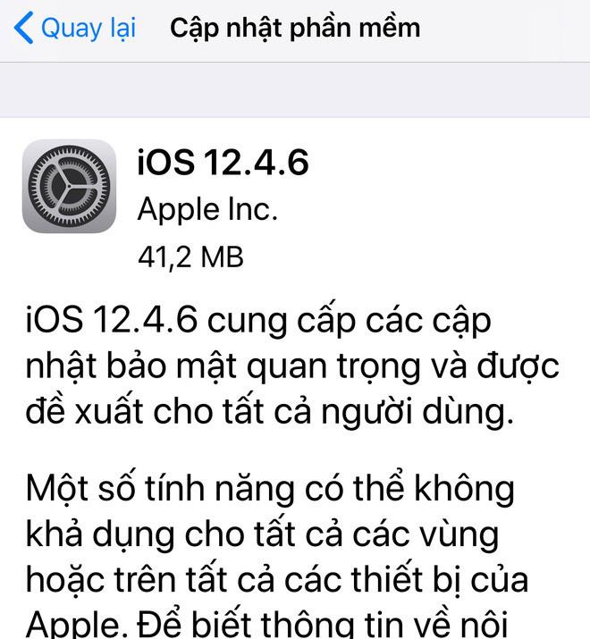 Ra mắt đã 6-7 năm, iPhone 5s và iPhone 6 lại vừa được Apple cập nhật iOS mới - ảnh 1