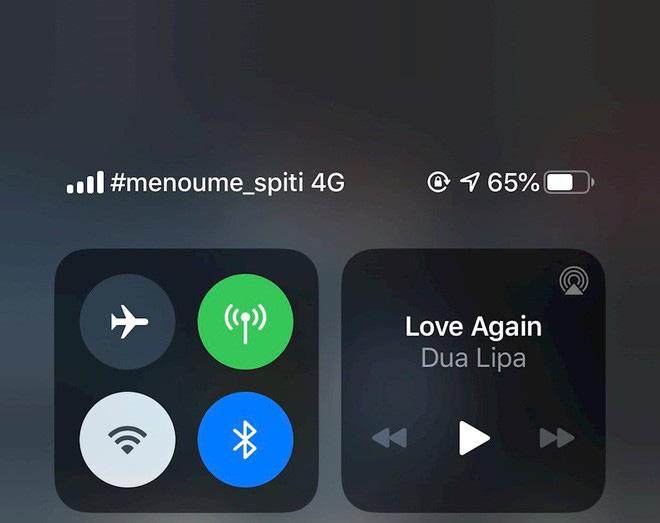 """iPhone khắp thế giới bỗng hiện thông điệp """"ở nhà"""" tránh dịch trên góc máy, thì ra tất cả là do nhà mạng - ảnh 6"""