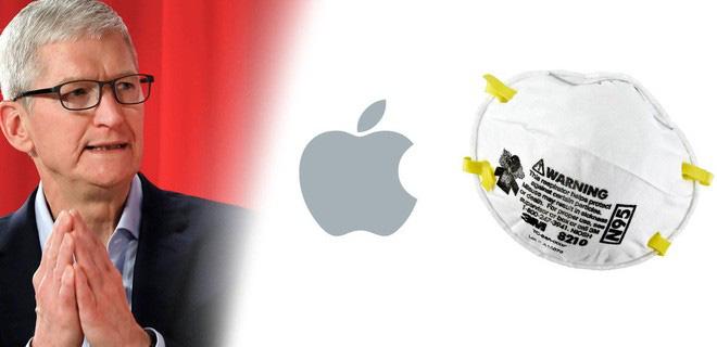 Tại sao Apple lại có đến hàng triệu khẩu trang để quyên tặng cho lực lượng y tế? - ảnh 1