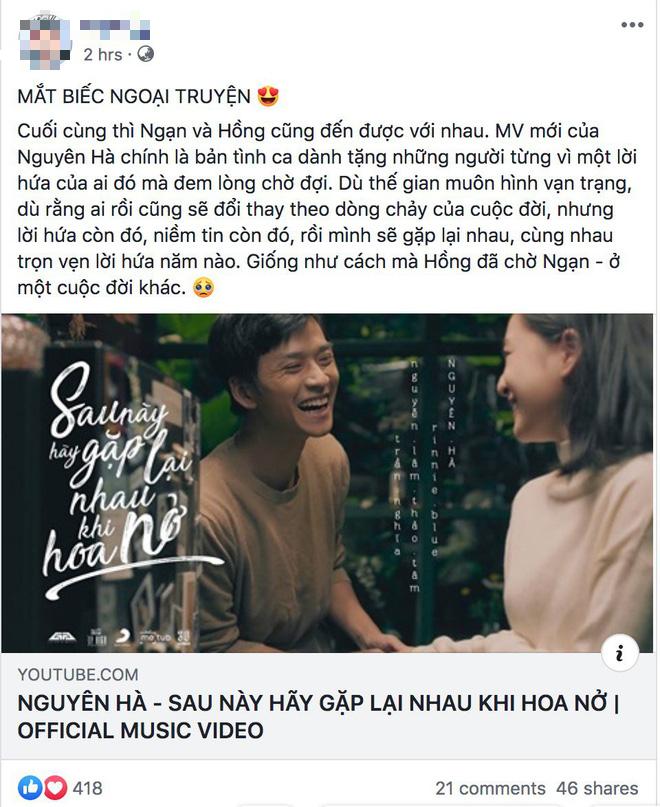 Fan Mắt Biếc mừng rơn khi Ngạn và Hồng có kết đẹp trong MV của Nguyên Hà nhưng chuyện tình mùa dịch mới được nhắc tới nhiều nhất! - ảnh 7