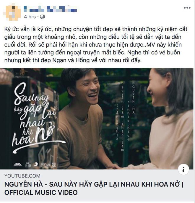 Fan Mắt Biếc mừng rơn khi Ngạn và Hồng có kết đẹp trong MV của Nguyên Hà nhưng chuyện tình mùa dịch mới được nhắc tới nhiều nhất! - ảnh 4